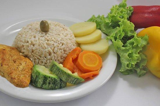 Comida saudável sem conservantes