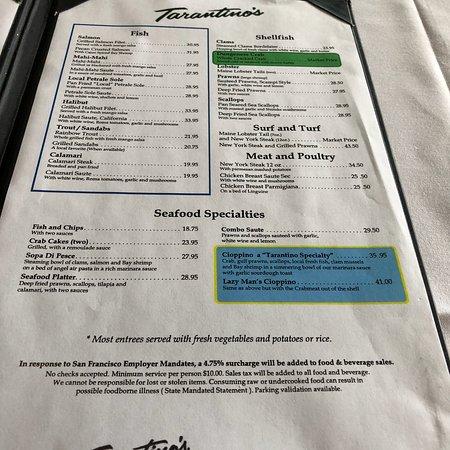 Фотография Tarantino's Restaurant
