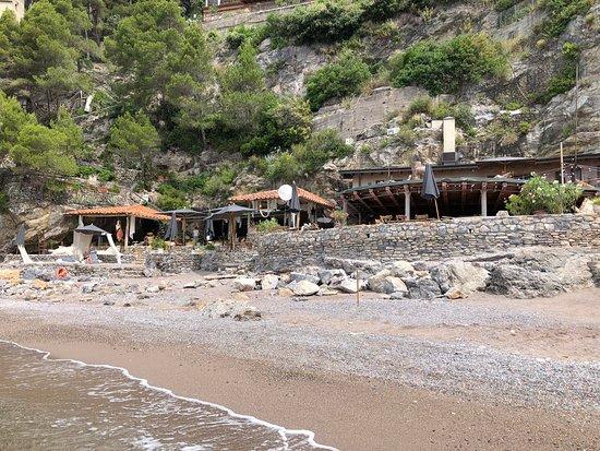 Eco del Mare: Vue restaurant