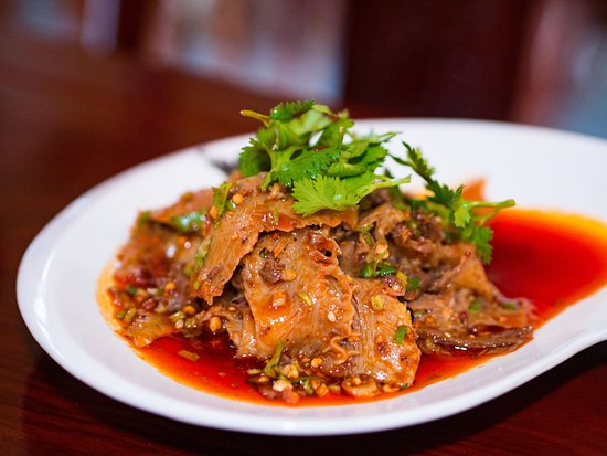 Chow House NYC: Sichuan Beef Tripes