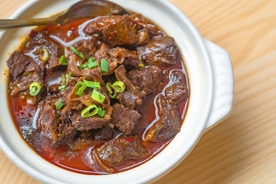 Chow House NYC: Braised Beef with Glass Noodles