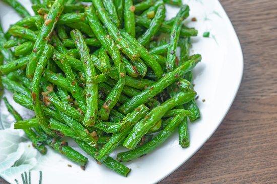 Chow House NYC: Sautéed String Beans
