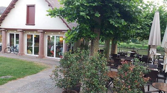 garten grill, jaber's garten grill-bistro-cafe, neckarsteinach - restaurant, Design ideen