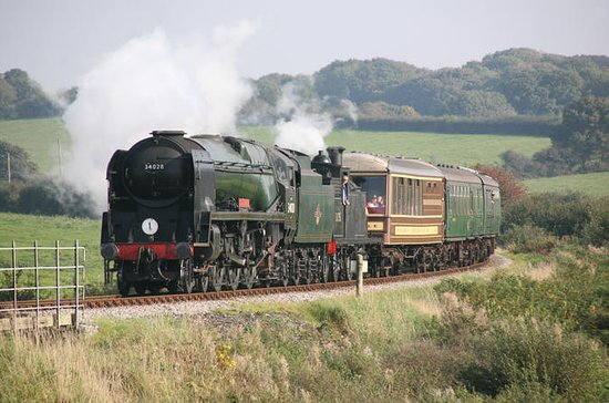 Steam Train and Sea Cruise Adventure...