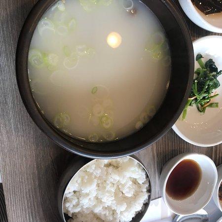 Korea lunch