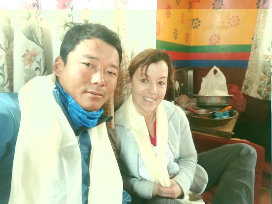 Everest Expeditions Nepal: Tanya Tailor Mount Everest Expedition 2018 from switzerland