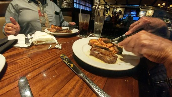 LongHorn Steakhouse: Steak and sweet potato