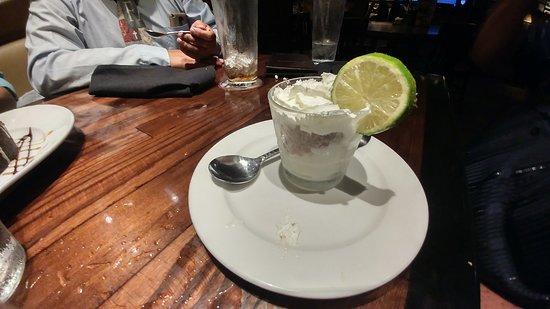 LongHorn Steakhouse: Key lime pie jar