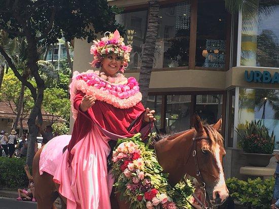 King Kamehameha Celebration Floral Parade: Flower parade