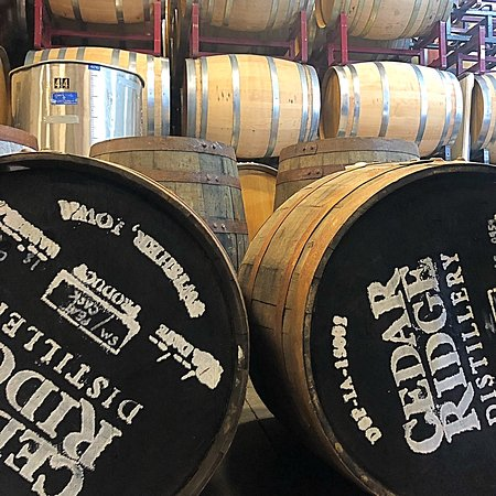Swisher, IA: Whiskey Barrels