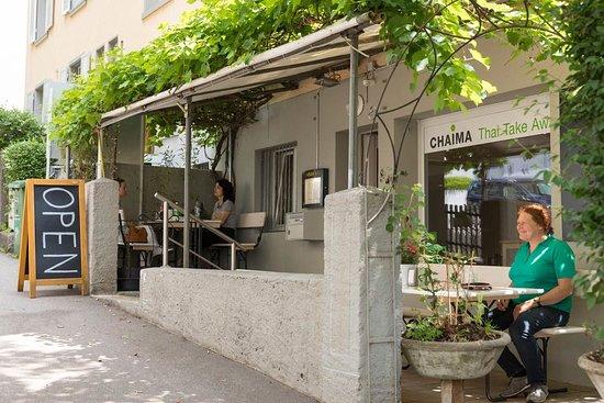 Chaima Thai Take Away: Aussensitzplätze