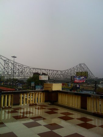 View Of Famous Howrah Bridge From The Gallery Of The Higher Class