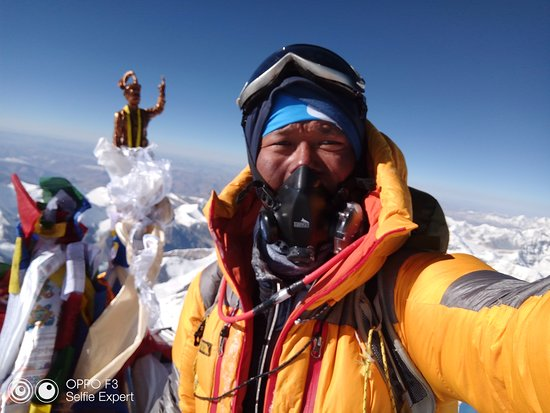 Summit of Mount Everest - Picture of Everest Expeditions Nepal