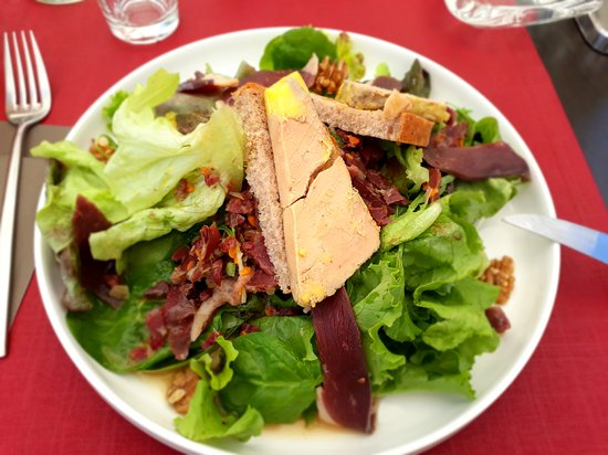 Hotel - Restaurant du Chateau: Toast foie gras