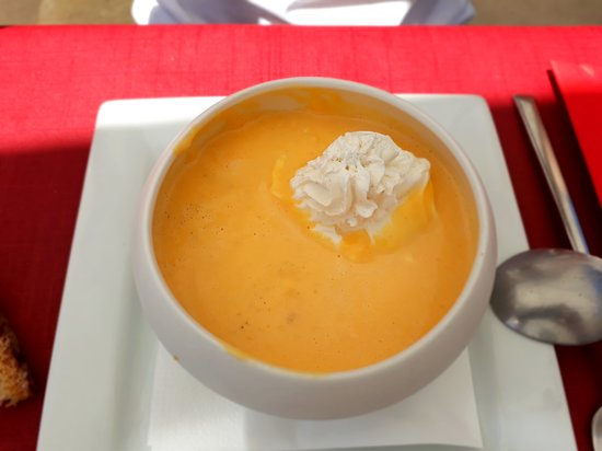 Hotel - Restaurant du Chateau: succulente soupe