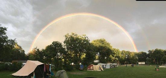 Lemele, Países Baixos: Kamperen op het speciale tenten- en vouwwagenveld