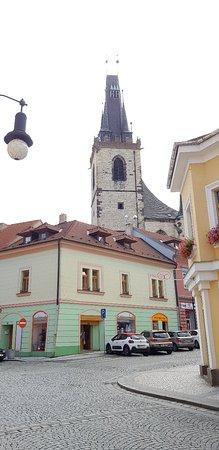 Louny, Tschechien: Chrám svatého Mikuláše