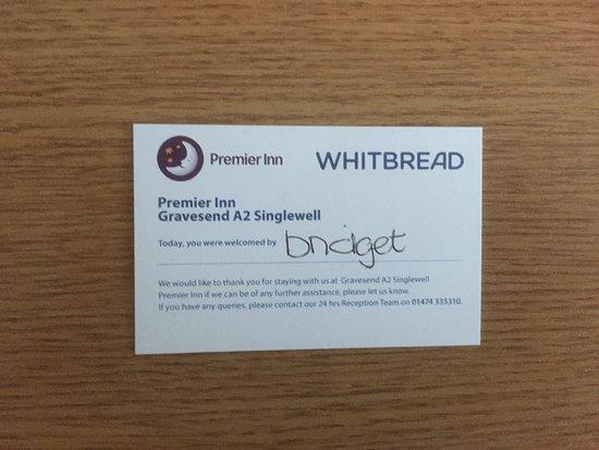 Singlewell, UK: Bridget