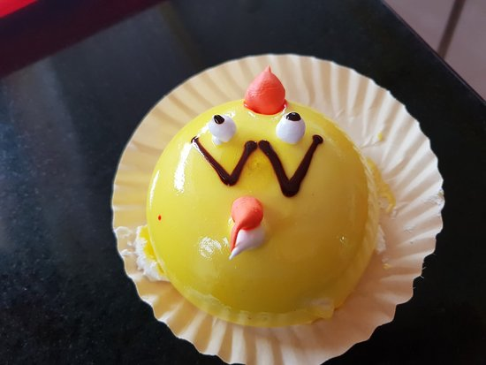 Bliss: Angry Bird Pastry