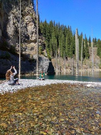 Kolsai Tour: Kaindy Lake in Kazakhstan