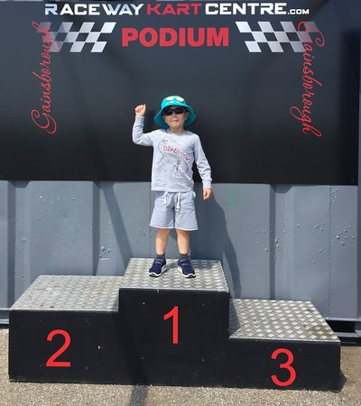Raceway Kart Centre: Experiences start from age 5!