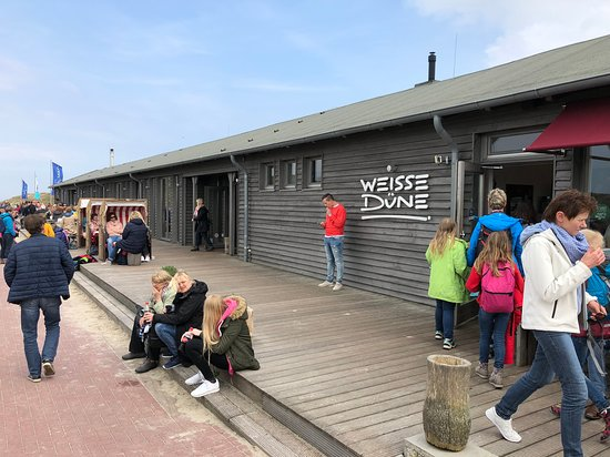 Weisse Duene: Weisse Düne auf Norderney