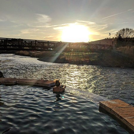 The Springs Resort & Spa: Great sunset spot!