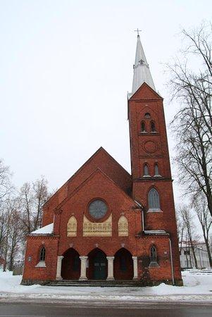 Лютеранская церковь Святой Троицы, Резекне, Латвия