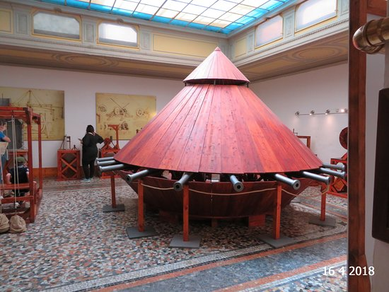 レオナルド ダ ヴィンチ博物館