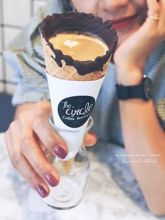 """The Circle Coffee Boutique - Chalong: """"Coffee in a Cone"""""""