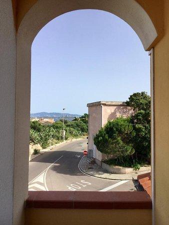 B&B Villa le Bouganville: Vista dalla camera Stella Marina
