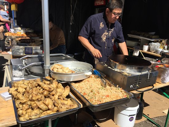 Творческий городок Telliskivi: Китайские вкусняшки!