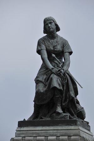 Tours et Remparts de Saint Valery sur Somme: Jeanne d'Arc