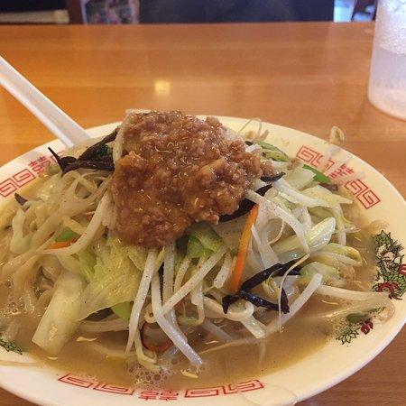 Champon Daio: 天草大王のガラと塩だけを使ったスープと自家製ちぢれ麺の相性は抜群!