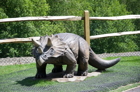 Southwater Country Park: Dinosaur Island Play Area