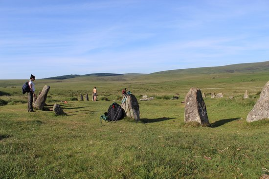 Dartmoor's Daughter: One of 8 stone circles we visited