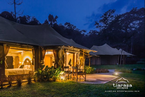 TIARASA ESCAPES GLAMPING RESORT: UPDATED 2019