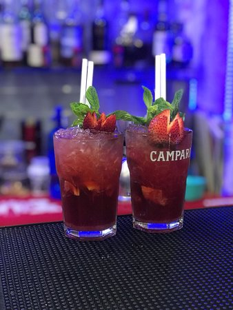 Terminal Cafe: Strawberry Mojito