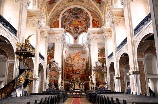 Krzeszow, Polen: Kościół bracki św. Józefa