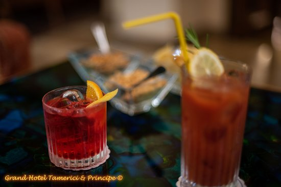 Grand Hotel Tamerici & Principe: Fresh drinks from our bartender