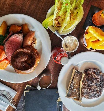 Hawksmoor Air Street: Steak and Sunday Roast with great Salad