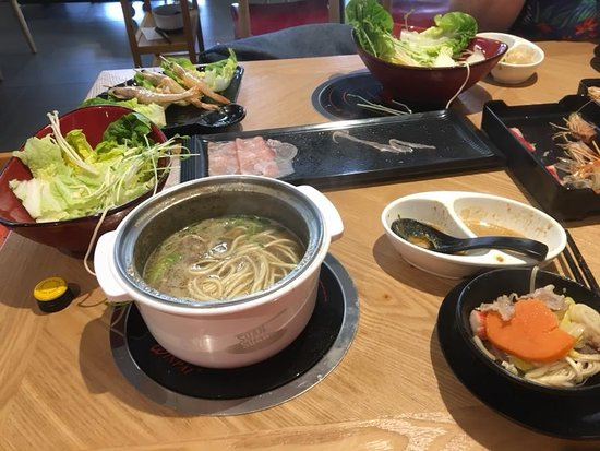 Suan Suan Restaurant: Our meal