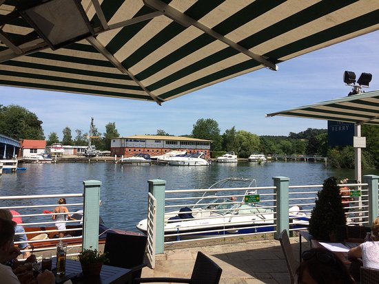 The Ferry: View of the river at cookham