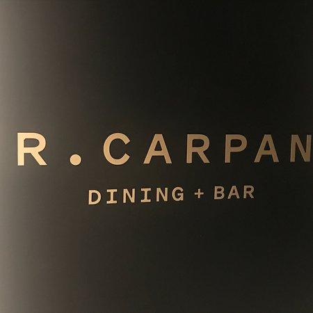 Mr. Carpano Dining + Bar: Me Carpano Bar & Dining