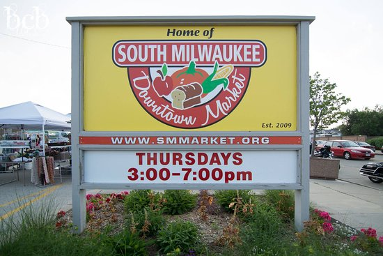 South Milwaukee, WI: Thursday Outdoor Market from June to October featuring 40+ vendors, hot food items and live musi