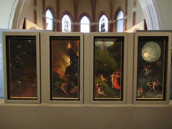 """Gallerie dell'Accademia: """"Visions de l'Enfer"""" par Jérôme BOSCH"""