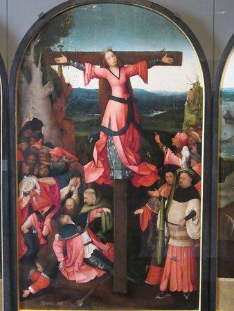"""Gallerie dell'Accademia: """"Le martyre de Sainte-Julie"""" par Jérôme BOSCH"""