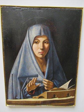 """Gallerie dell'Accademia: """"Annonciation"""" par Antonello de Saliba"""