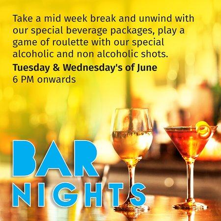 Salt- Indian Restaurant, Bar & Grill: BAR NIGHTS, Tuesday & Wednesday's of June