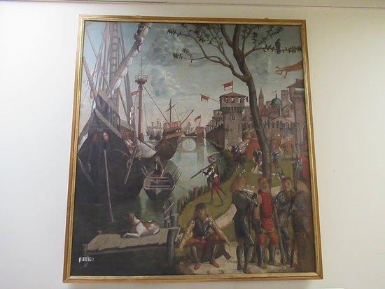 "Gallerie dell'Accademia: ""Légende de sainte-Ursule"" par Vittore CARPACCIO"